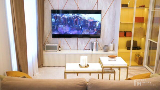 FM INTERIORS | Обзор дизайна квартиры в ЖК МатчПойнт | YouTube-канал