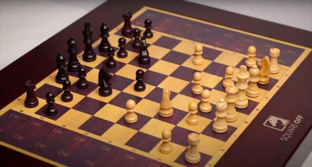 Square Off | Рекламный ролик шахмат с искусственным интеллектом | Реклама
