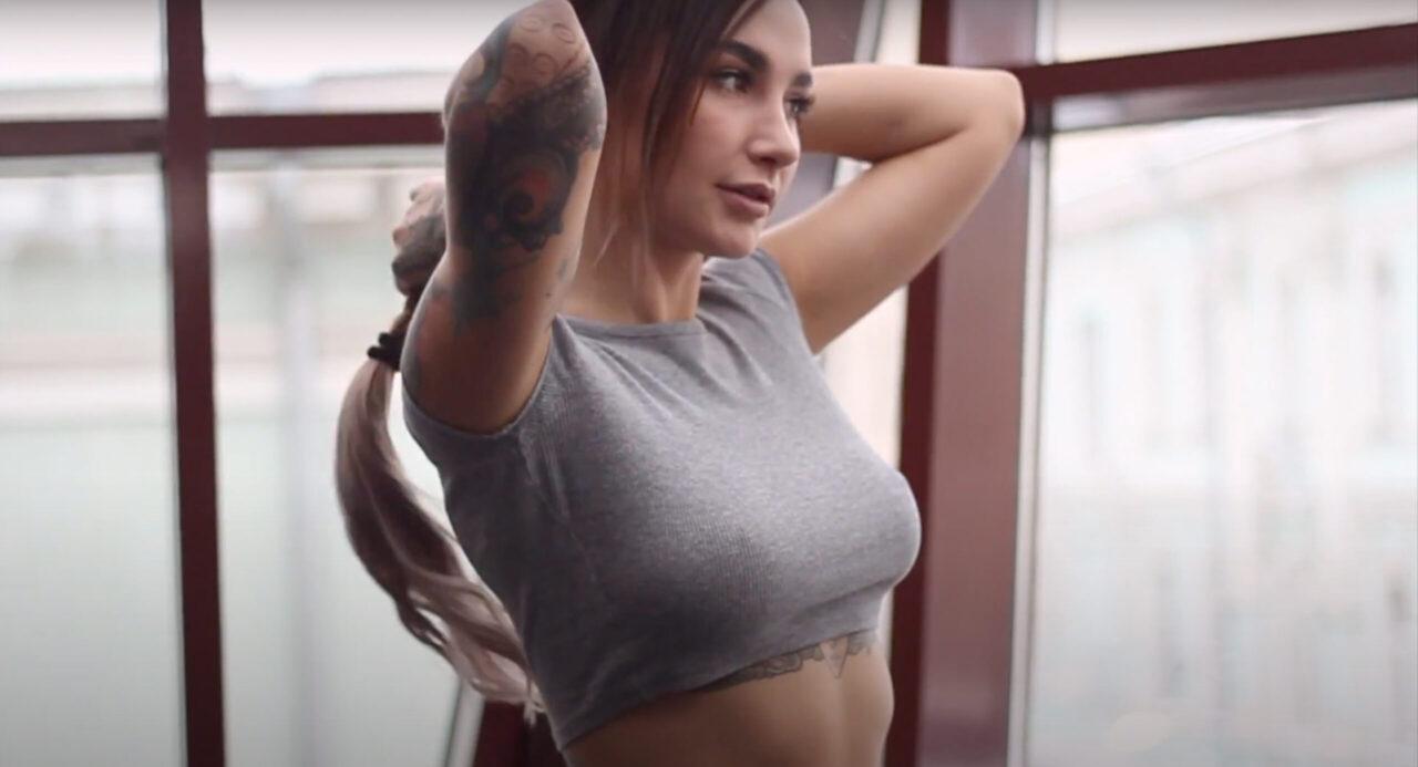 XFIT | Промо ролик для фитнес центра | Angelica Anderson | Промо ролики